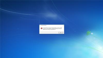 Windows 7 зависает при загрузке рабочего стола