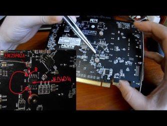 Как перепрошить БИОС на видеокарте Radeon?