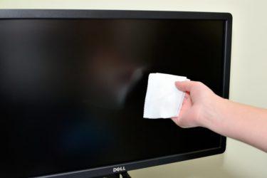 Чем почистить монитор компьютера в домашних условиях?