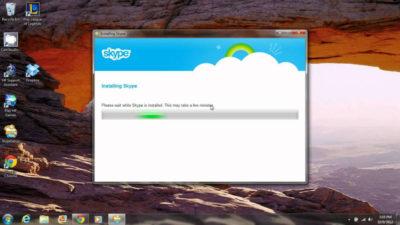 Как восстановить Skype в Windows 7?