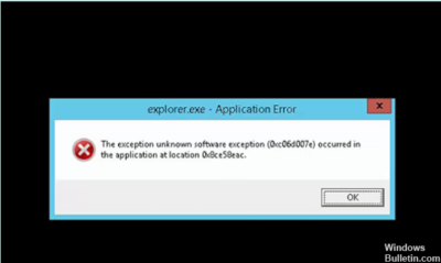 Ошибка при запуске приложения 0xc0000006 Windows 10
