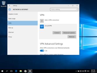 Что такое vpn подключение Windows 10?